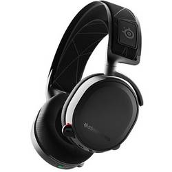 Steelseries Arctis 7 herný headset s USB, jack 3,5 mm stereo, bezdrôtový, káblový cez uši čierna