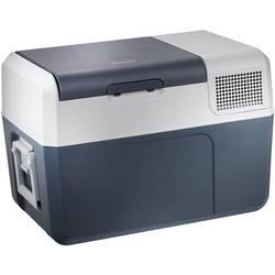 Přenosná lednice (autochladnička) MobiCool FR60 AC/DC, 12 V, 24 V, 230 V, 58 l, modrá, šedá