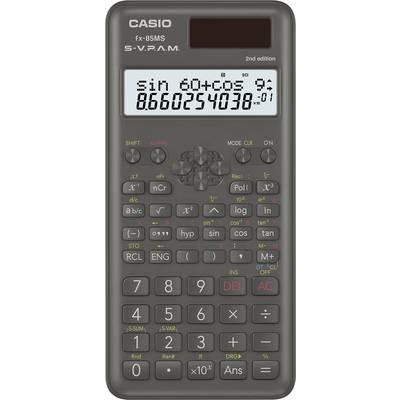 Schulrechner Casio FX-85MS 2nd Edition Schwarz Display (Stellen): 12 solarbetrieben, batte Preisvergleich