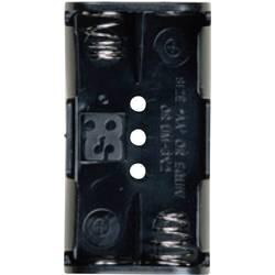 Bateriový držák na 2x AA Takachi SN32PC, pájecí pin , (d x š x v) 57.6 x 31.2 x 15 mm