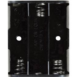 Bateriový držák na 3x AA Takachi SN33S, tlačítkové připojení , (d x š x v) 57.7 x 47 x 16.6 mm