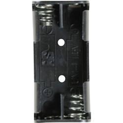 Bateriový držák na 2x AAA Takachi SN42PC, pájecí pin , (d x š x v) 52.3 x 24.7 x 13 mm