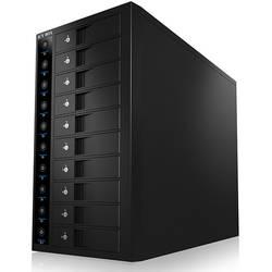 """Úložné puzdro pre 3,5"""" pevný disk 3.5 palca ICY BOX IB-3810U3, USB 3.0, čierna"""