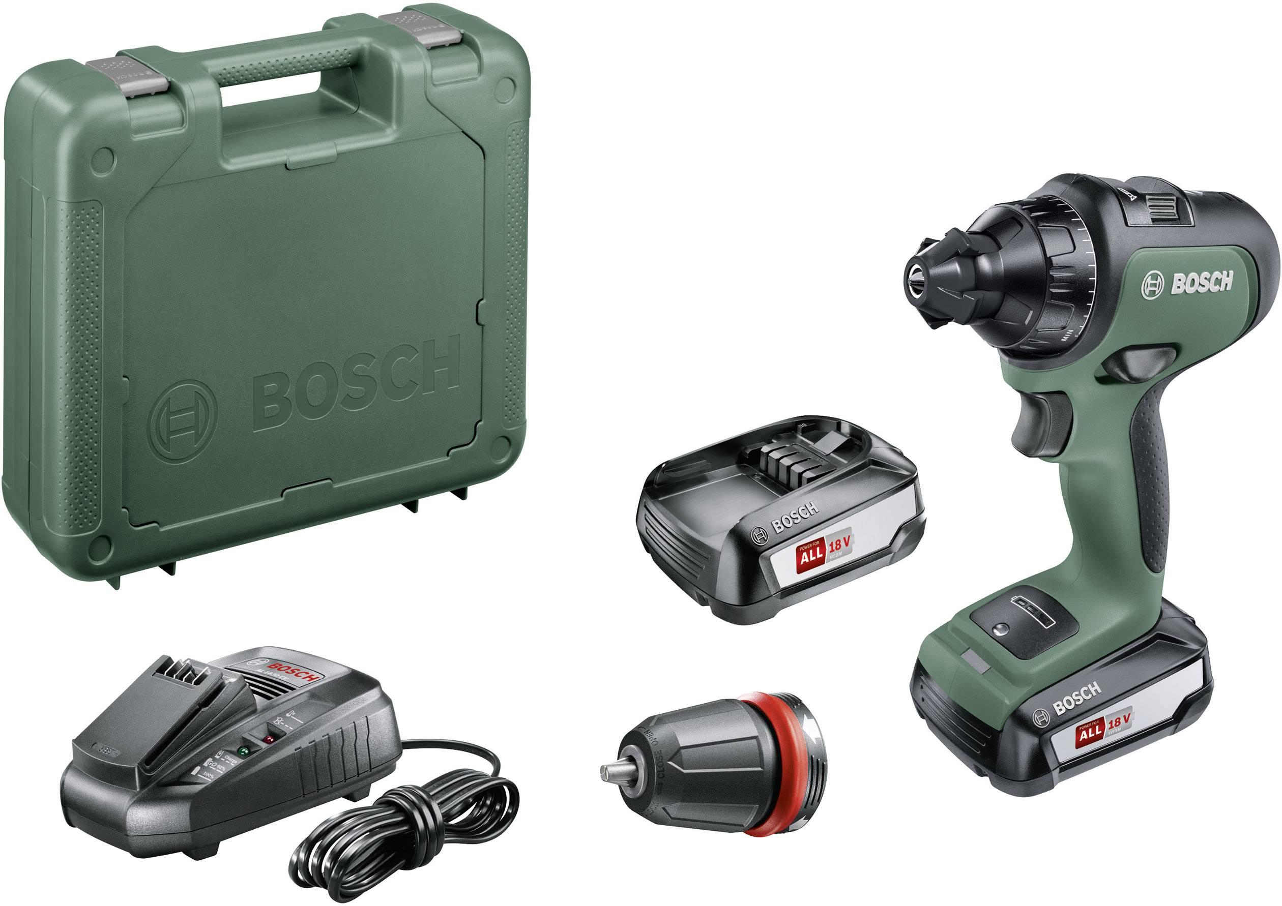 Bosch Home and Garden AdvancedDrill 18 Akku Bohrschrauber B Ware (beschädigte fehlende Verpackung) 18 V 2.5 Ah Li Ion