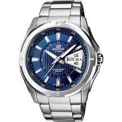 Náramkové hodinky Casio EF-129D-2AVEF, (d x š x v) 49 x 44.8 x 10.4 mm, nerezová oceľ