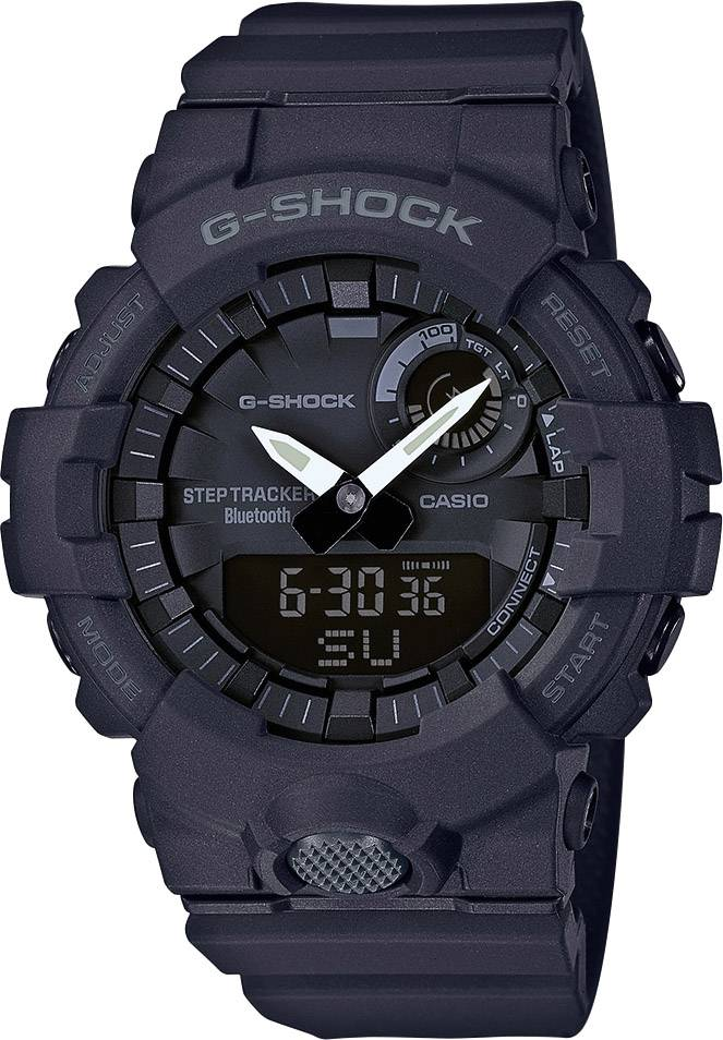 Casio Edifice Chronograph Ersatzband schwarz Uhrenarmband Resin EFV-550P-1AVUEF