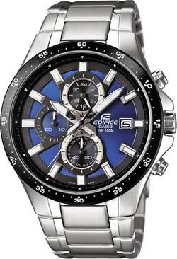 Image of Casio Chronograph Armbanduhr EFR-519D-2AVEF (L x B x H) 48.1 x 43.4 x 11.4 mm Silber Gehäusematerial=Edelstahl Material