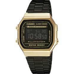 Náramkové hodinky Casio A168WEGB-1BEF, (d x š x v) 38.6 x 36.3 x 9.6 mm, zlatá