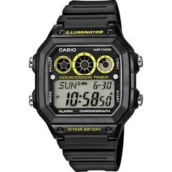 Náramkové hodinky Casio AE-1300WH-1AVEF, (d x š x v) 45 x 42.1 x 12.5 mm, čierna