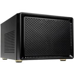 PC skrinka midi tower Kolink SATELLITE, čierna, RGB