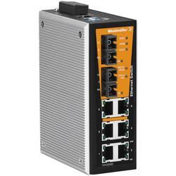 Priemyselný ethernetový switch Weidmüller IE-SW-VL08MT-6TX-2SC, 10 / 100 Mbit/s