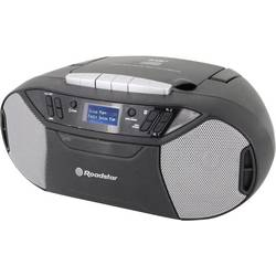 DAB+ CD rádio Roadstar RCR-777UD+, AUX, CD, kazeta, FM, USB, černá