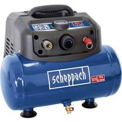 Piestový kompresor Scheppach HC06 5906132901, Objem tlak. nádoby 6 l