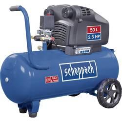 Piestový kompresor Scheppach HC54 5906103901, Objem tlak. nádoby 50 l