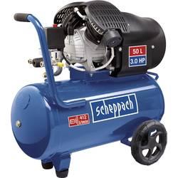 Piestový kompresor Scheppach HC52DC 5906101901, Objem tlak. nádoby 50 l