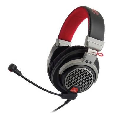 Audio Technica ATH-PDG1 Gaming Headset 3.5 mm Klinke schnurgebunden Over Ear Schwarz, Grau Preisvergleich