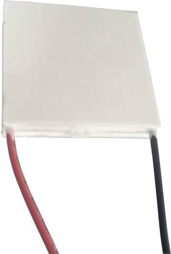 Peltier-Element mehrstöckig 14.6 V 4.2 A 26 W (A x B/C x D/H) 40 x 40/40 x 40/8.1 mm TRU COMPONENTS TEC2-127-63-04