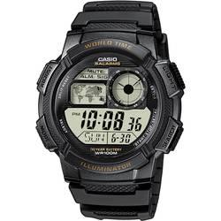 Náramkové hodinky Casio AE-1000W-1AVEF, (d x š x v) 48.1 x 43.7 x 13.7 mm, čierna