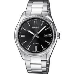 Náramkové hodinky Casio MTP-1302PD-1A1VEF, (d x š x v) 44.2 x 38.5 x 9.2 mm, strieborná