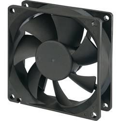Axiálny ventilátor Conrad Components RD8025B24L 189137, 24 V/DC, 25 dB, (d x š x v) 80 x 80 x 25 mm
