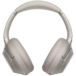 Bluetooth cestovné slúchadlá Over Ear Sony WH-1000XM3 WH1000XM3S.CE7, strieborná