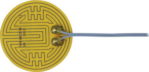Polyester Heizfolie selbstklebend 12 V/DC, 12 V/AC 15 W Schutzart IPX4 (Ø) 90 mm Thermo