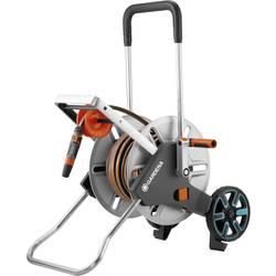 Navíjací vozík pre záhradnú hadicu GARDENA CleverRoll M Easy Metall Set 18547-20, 1/2 Zoll, 25 m, strieborná