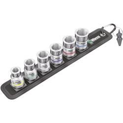 """Sada nástavcov pre nástrčný kľúč, vonkajší šesťhran Wera Belt C 1 Zyklop 05003995001, 1/2"""" (12.5 mm), chrom-vanadová ocel, 7-dielna"""