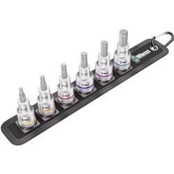 """Súprava nástrčných kľúčov a bitov, inbus Wera Belt C 2 Zyklop 05003996001, 1/2"""" (12.5 mm), chrom-vanadová ocel, 7-dielna"""