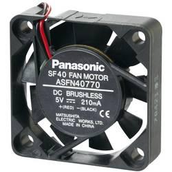 Axiálny ventilátor Panasonic ASFN44790 ASFN44790, 5 V/DC, 22 dB, (d x š x v) 40 x 40 x 10 mm