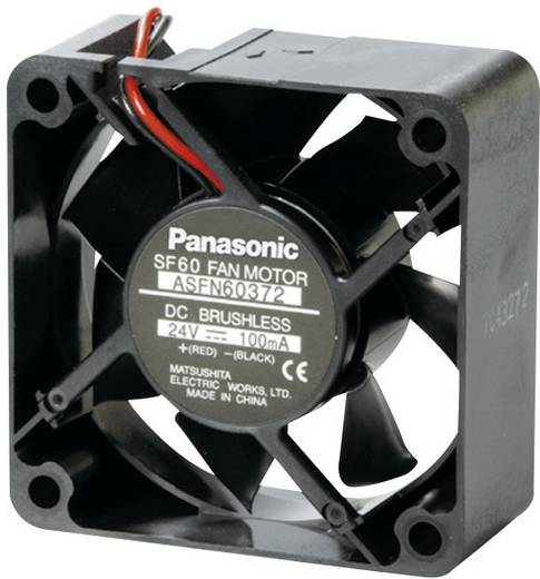 Axiallüfter 24 V/DC 26.4 m³/h (L x B x H) 60 x 60 x 25 mm Panasonic ASFN62372