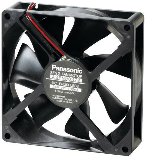 Panasonic ASFN92392 Axiallüfter 24 V/DC 70.2 m³/h (L x B x H) 92 x 92 x 25 mm