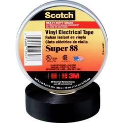 Izolačná páska 3M SUPER88-25X33, (d x š) 33 m x 25 mm, čierna, 1 ks