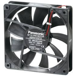 Axiálny ventilátor Panasonic ASFN14B92 ASFN14B92, 24 V/DC, 37 dB, (d x š x v) 120 x 120 x 38 mm
