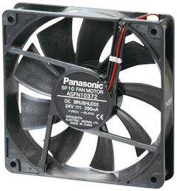 DC ventilátor Panasonic ASFN16392, 120 x 120 x 25 mm, 24 V/DC