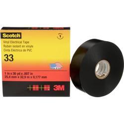 Izolačná páska 3M SCOTCH33-38X33, (d x š) 33 m x 38 mm, čierna, 1 ks