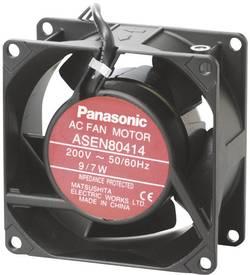 Axiálny ventilátor Panasonic ASEN80412 ASEN80412, 115 V/AC, 38 dB, (d x š x v) 80 x 80 x 38 mm