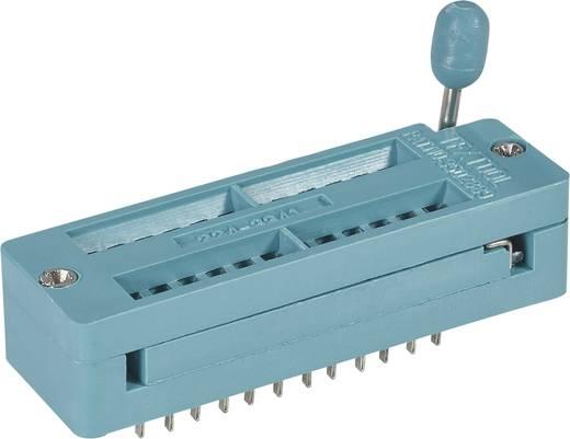 IC-Testsockel Rastermaß: 7.62 mm, 15.24 mm Polzahl: 24 1 St.