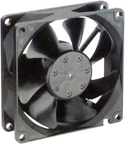 Axiálny ventilátor NMB Minebea 3115PS-12W-B30 3115PS-12W-B30, 115 V/AC, 38 dB, (d x š x v) 80 x 80 x 38 mm