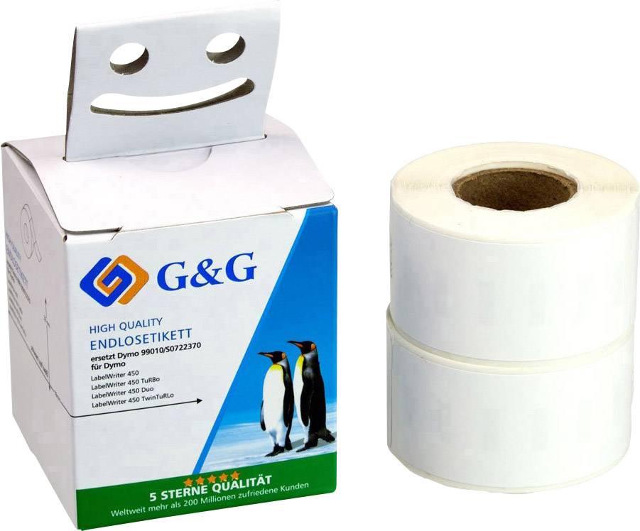 15x Etiketten 99014 kompatibel zu DYMO 54x101mm 220 Label //Rolle Adressetiketten