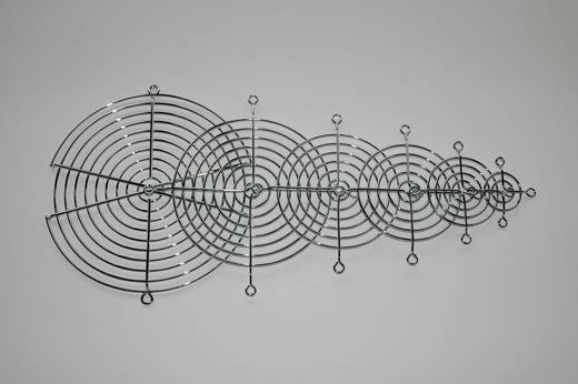 Lüftergitter 1 St. (B x H) 60 mm x 60 mm Metall
