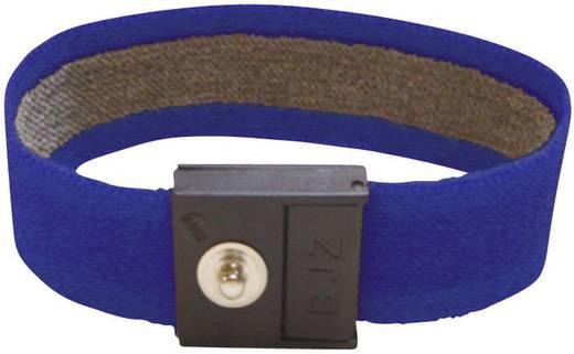 ESD-Handgelenkband Marine-Blau BJZ C-189 145 4,0 Druckknopf 4 mm