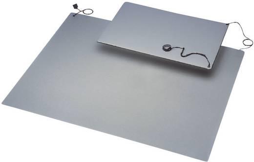 ESD-Matten-Set Grau (L x B) 900 mm x 600 mm BJZ C-184 105P 10,3 inkl. Erdungsarmband, inkl. Erdungsstecker, inkl. Erdung