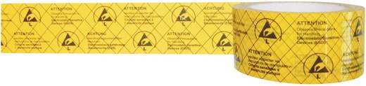 ESD-Klebeband 1 Rolle(n) Gelb, Schwarz (L x B) 50 m x 50 mm BJZ C-195 005-PP