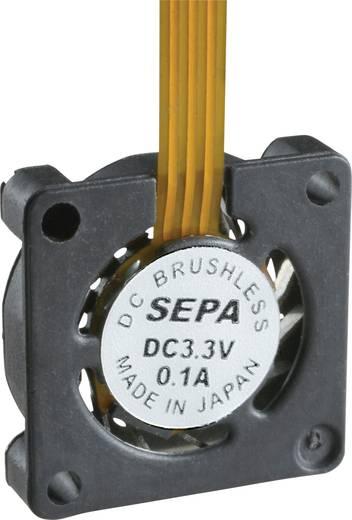 Axiallüfter 3.3 V/DC 0.76 l/min (L x B x H) 10 x 10 x 2 mm SEPA HY_10A03A-ST