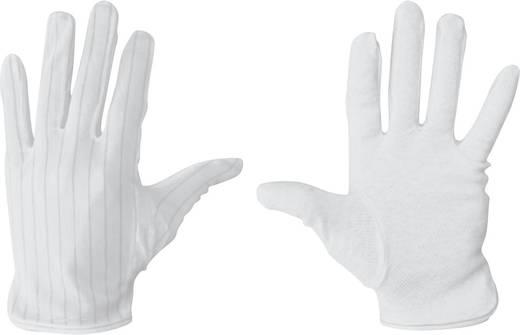 ESD-Handschuh rutschfest Größe: M BJZ C-199 2814-M Polyester, Polyurethan