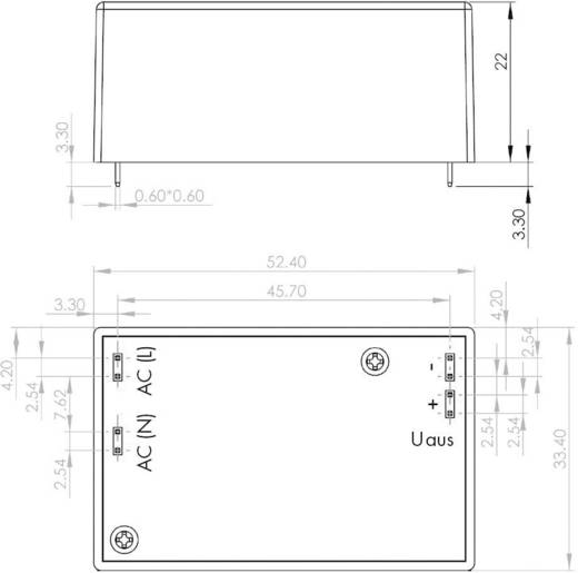 AC/DC-Printnetzteil H-Tronic SP-12-401PCB 12 V/DC 0.4 A 4.8 W
