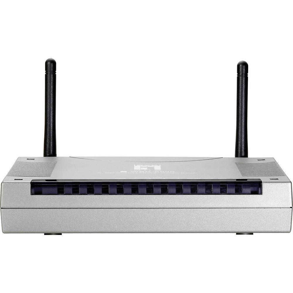 LevelOne Integriertes Modem: ADSL, ADSL2+ 2.4 GHz 300 MBit/s im ...