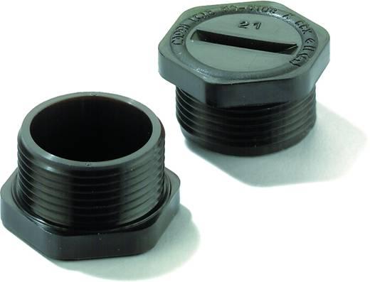 Verschlussschraube PG7 Polyamid Licht-Grau (RAL 7035) Weidmüller VP 7-K54 100 St.