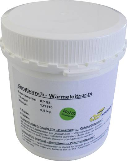 Wärmeleitpaste 6 W/mK 500 g Temperatur (max.): 150 °C Kerafol KP98